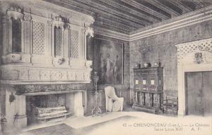 France Chenonceau Le Chateau Salon Louis XIII