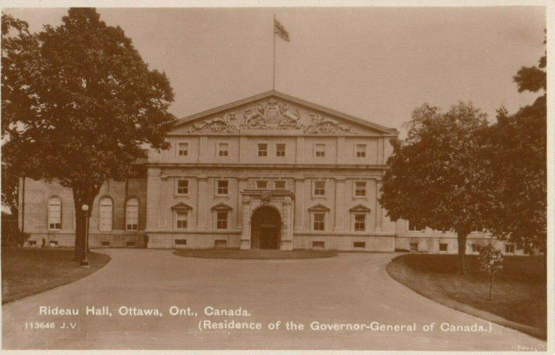 RP: OTTAWA , Ontario , 1930 ; Rideau Hall