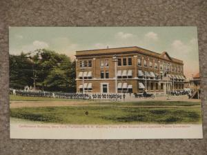 Conference Bldg., Navy Yard, Portsmouth, N.H.,  unused vintage card