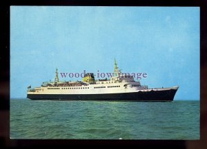 FE3230 - Belgian Ferry - Roi Baudouin , built 1965 - postcard