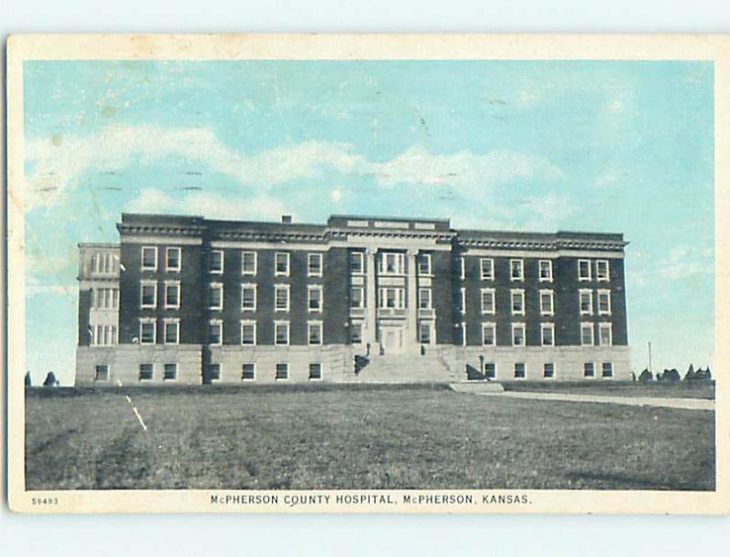 W-Border HOSPITAL SCENE Mcpherson Kansas KS hs0543