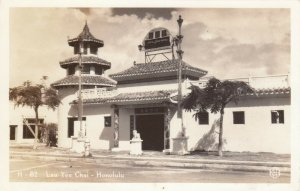 RP:  Lau Yee Chai - HONOLULU , Hawaii , 1920-30s