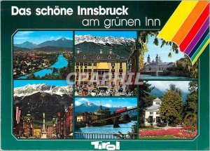 A Modern Postcard Greetings from Innsbruck