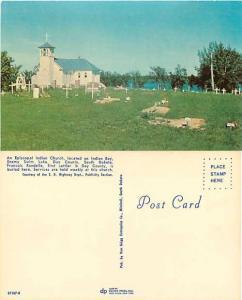 Episcopal Indian Church & Graveyard, Enemy Swim Lake, Day County, South Dakota
