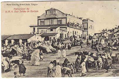 French Morocco 1910 Hotel  Cavilla Tangier