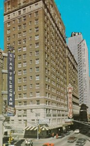 FORT WORTH, Texas, 1940-60s; The Worth Hotel on Seventh Street