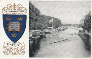 OXFORD, England, 00-10s;University of Oxford, Rowing Team, Embossed Coat of Arms