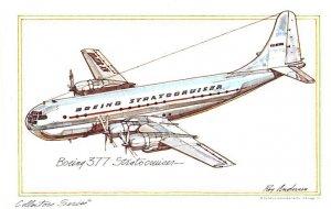 Boeing 377 Stratocruiser Artist Ray Anderson Unused
