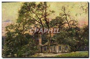 Postcard Old Versailles Petit Trianon Dairy and turn Malborough