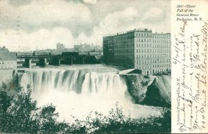 New York Rochester Upper Falls Of The Genesee River 1905