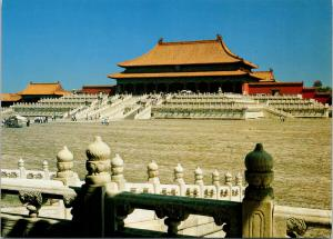 The Hall of Supreme Harmony China Unused Postcard F6