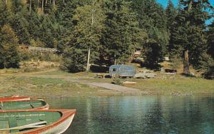 La Rocques , Cameron Lake Chalet , QUALICUM , B.C. , Canada , 50-60s