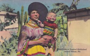 Seminoles at Tropical Hobbyland,  Indian Village,  Florida,  30-40s