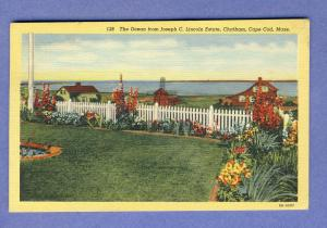 Chatham, Mass/MA Postcard,Jos Lincoln Estate/Ocean, Cape Cod