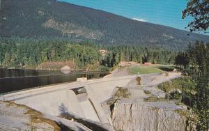 Scenic view,  Cleveland Dam,  Vancouver,  B.C.,  Canada,   40-60s