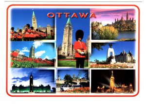 Large 5 X 7 inch, Mosaicof the City of Ottawa, Ontario