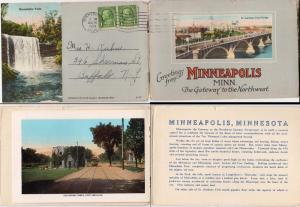 Booklet - Minneapolis Minn - 12 Pictures