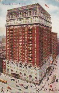 Illinois Chicago Hotel La Salle 1911