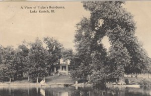 LAKE ZURICH , Illinois , 1915 ; Ficke's Residence