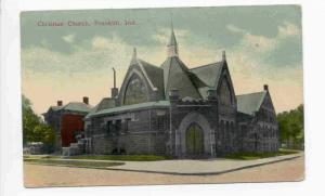 Christian Church, Franklin, Indiana, PU-1914
