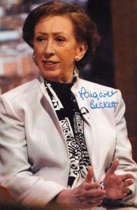 Margaret Beckett MP Politician Hand Signed Photo