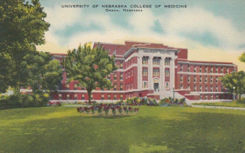 OMAHA , Nebraska , 1930-40s ; University of Nebraska College of Medicine