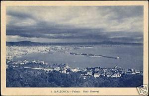 spain, MALLORCA PALMA, Vista General (1930s)
