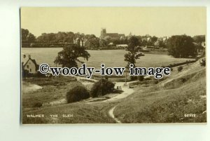 tp0837 - Kent - View across The Glen towards the Church, in Walmer - Postcard