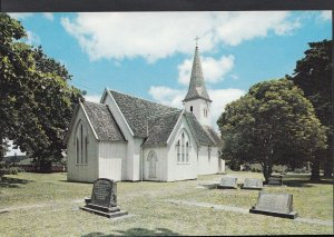 New Zealand Postcard - Waimate North Church, Northland  LC4004