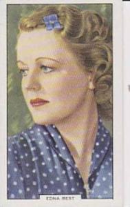 Gallaher Cigarette Card My Favourite Part No 20 Edna Best