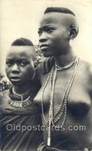 African Nude Unused light wear