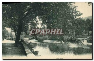 Postcard Old Park Garonne