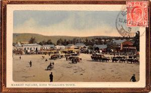 United Kingdom, Great Britain, England Market Square, King William's Town  Ma...