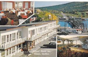 3-Views, Adams Motel Inc. Situated On Adams Street, Gaspe Bridge, Gaspe, Queb...
