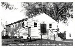 Reedsburg WI~Conservative Bible Baptist Church~Robert Youch Pastor~1950s RPPC