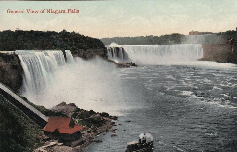 NIAGARA FALLS, Ontario, Canada, 1900-1910s; General View Of Niagara Falls