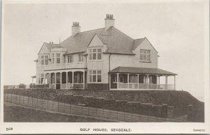 Golf House Seascale Cumbria UK Unused Sankeys Real Photo Postcard F15