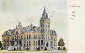REGINA , Saskatchewan , Canada , 1907 ; City Hall