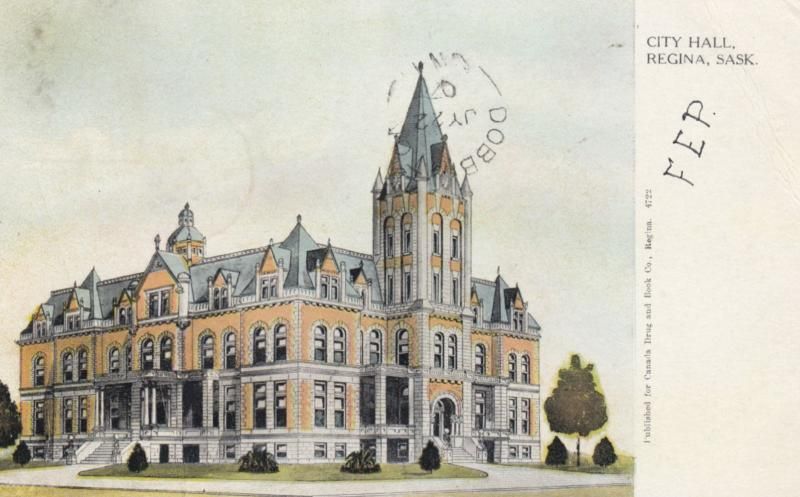 REGINA , Saskatchewan , Canada , 1907 ; City Hall