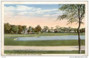 Bridgeport , Mirror Lake, Seaside Park,  Connecticut , 1900-10s