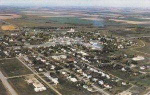 MORRIS, Manitoba, Canada, PU-1971; Aerial View
