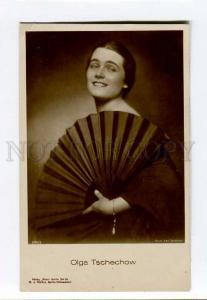 261465 Olga CHEKHOVA German FILM actress Soviet SPY old PHOTO