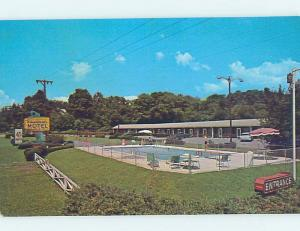 Unused Pre-1980 MOTEL SCENE Bristol Virginia VA G6787