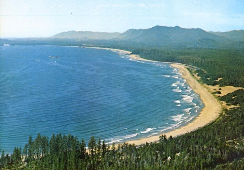 Long Beach Tofino Vancouver Island Bc Postcard