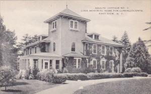 Adults Cottage No 2 Loeb Memorial Home For Convalescents East View New York A...