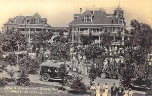 Benton Harbor MI House of David Administration Buildings RPPC Postcard