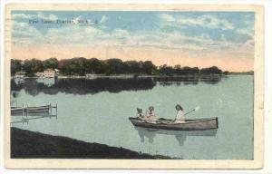 Pine Lake , PONTIAC, Michigan, PU-1927