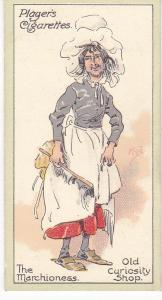 Cigarette Cards Players Characters From Dickens No 28 The Marchioness