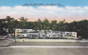 HOT SPRINGS, Arkansas, 1930-1940´s; Jack Tar Court Hotel