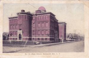 RICHMOND HILL , Long Island , New York, 1906 ; High School